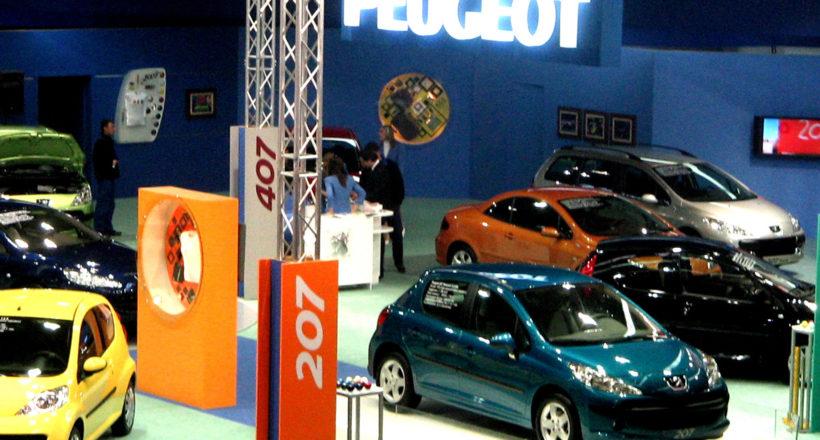 Рекламен надпис Peugeot