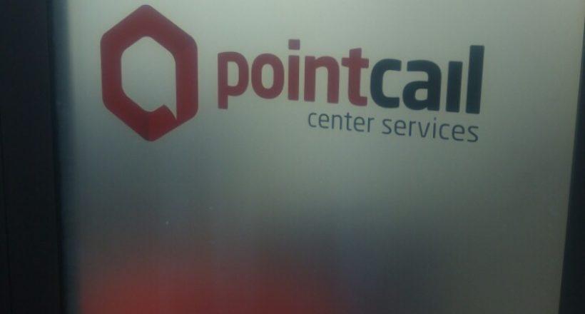 Брандиране на витрина Pointcall